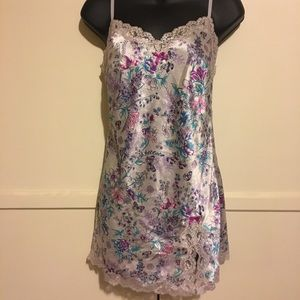 Victoria's Secret Satin and Lace chemise size XS